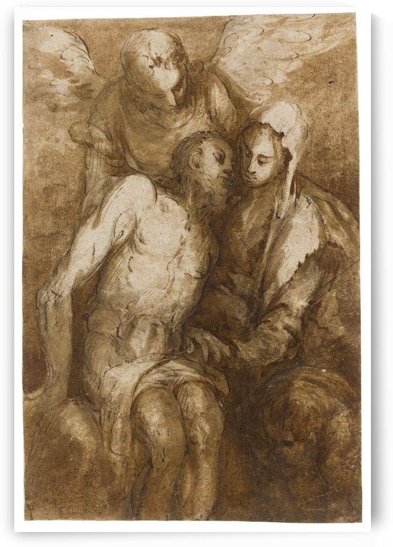 Pieta by William-Adolphe Bouguereau