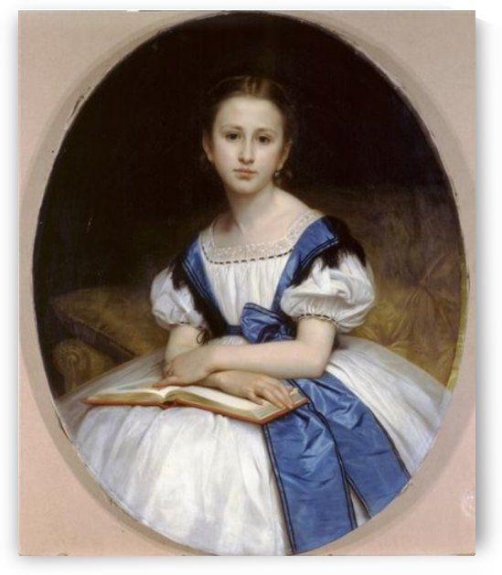 Portrait Of Mlle Brissac by William-Adolphe Bouguereau