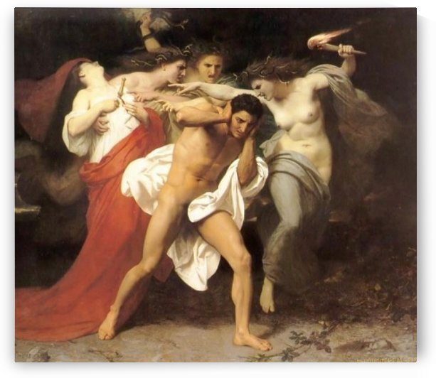 Orestes by William-Adolphe Bouguereau