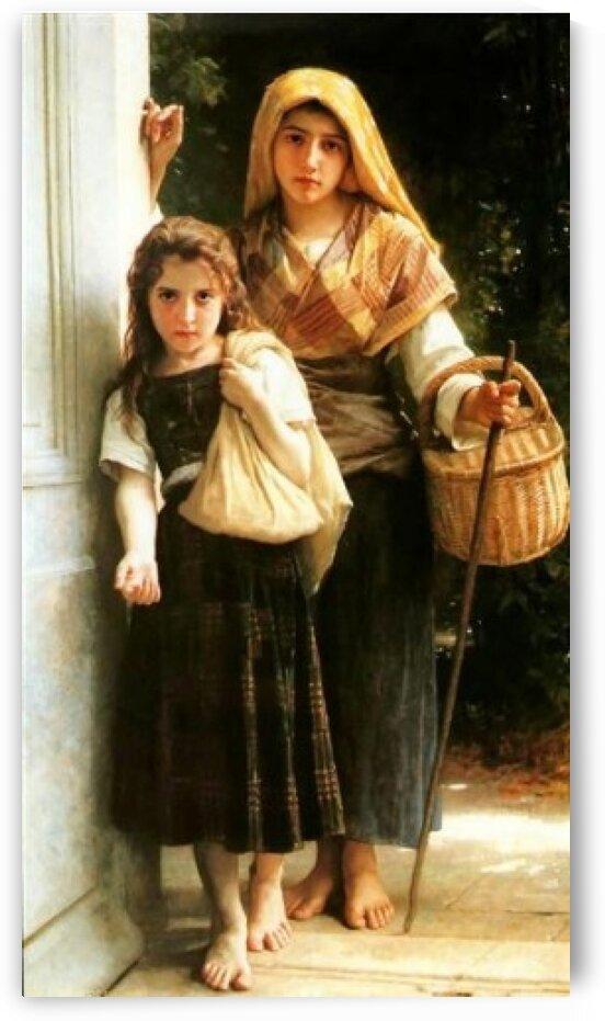Little Beggar by William-Adolphe Bouguereau
