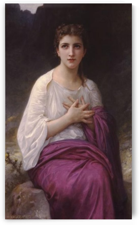 Psyche by William-Adolphe Bouguereau