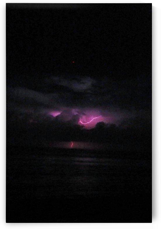 Pink Lightning Shining by Sher Daw