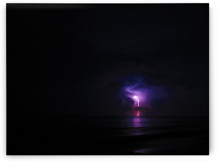 Lightning up the Sea by Sher Daw