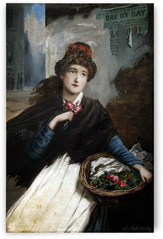 Lady Eleaonor by Augustus Edwin Mulready