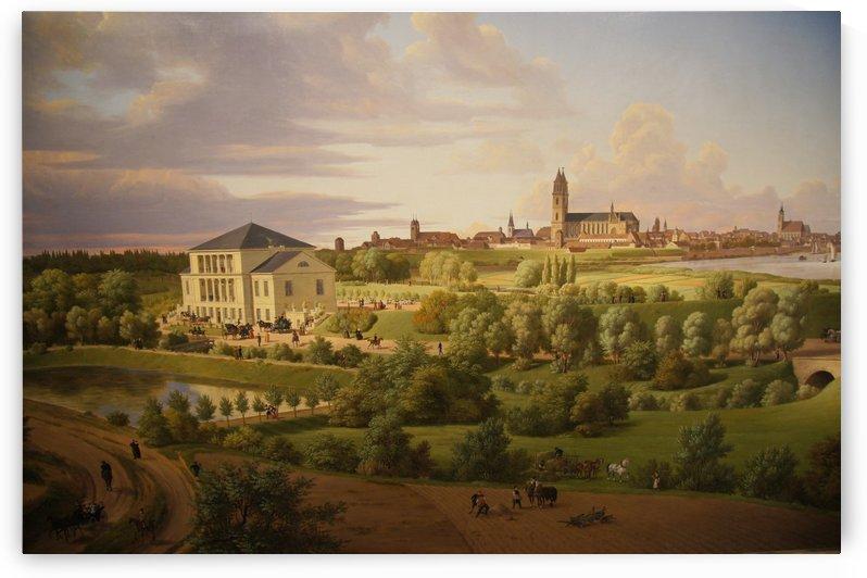 Magdeburg 1831 by Carl Hasenpflug