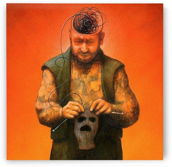 Black Mind by Pawel Kuczynski