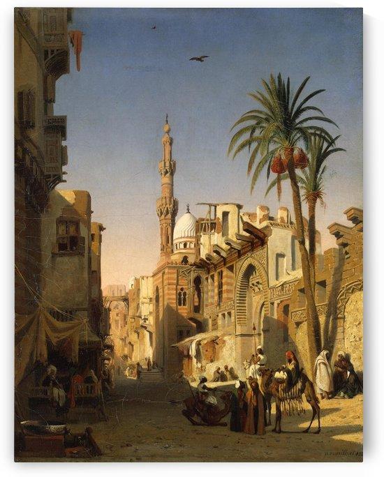 Tempel Of Karnak 1911 by Ernst Karl Eugen Koerner