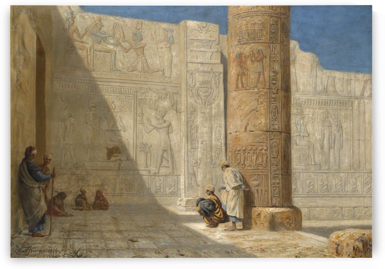 The Temple of Seti by Ernst Karl Eugen Koerner