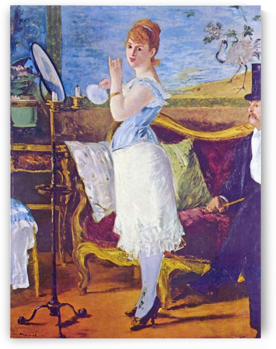 Nana by Manet by Manet