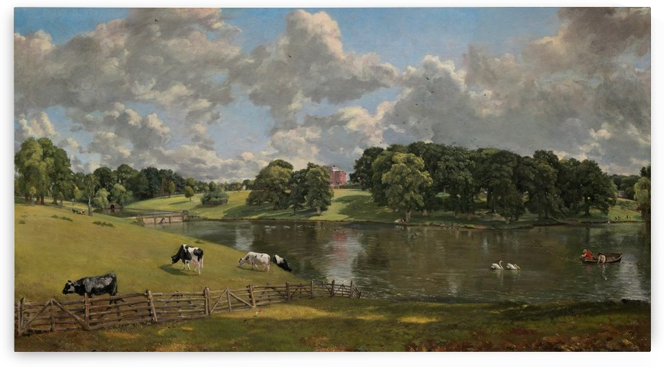 Wivenhoe Park Essex by John Constable