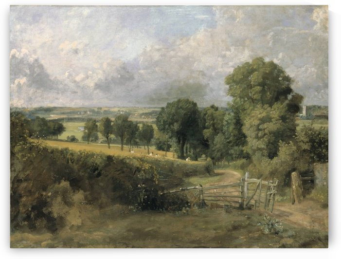 Fen Lane, East Bergholt by John Constable