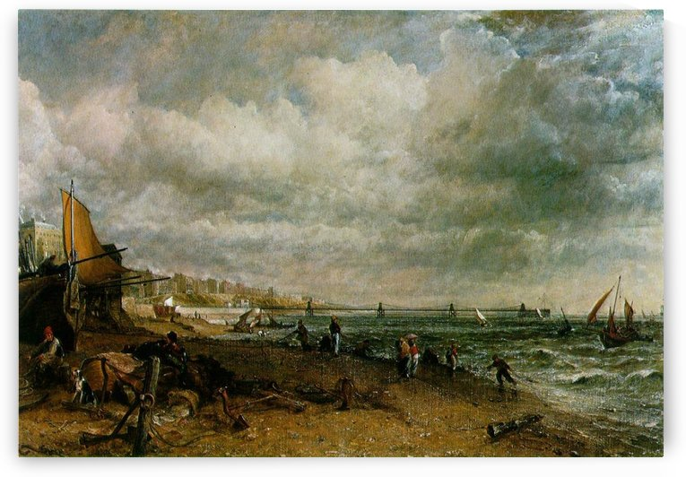 The shores of Brighton by John Constable