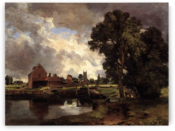 Dedham Lock and Mill by John Constable