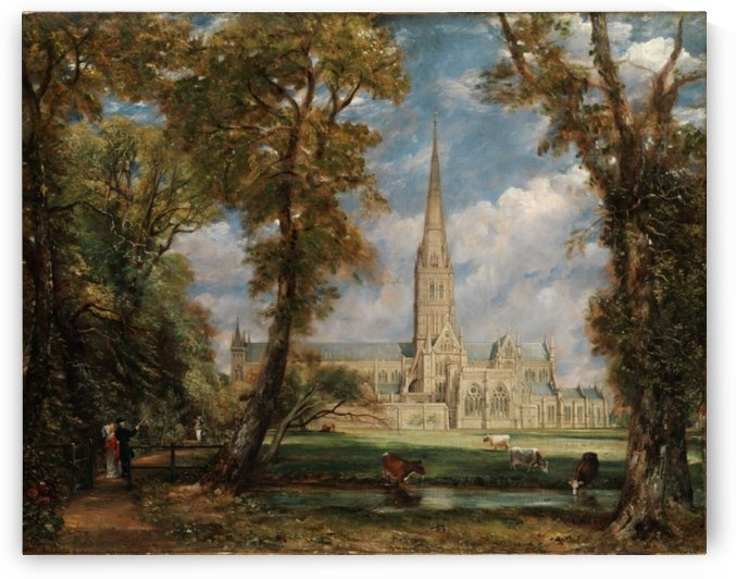 Sailsbury Cathedral by John Constable