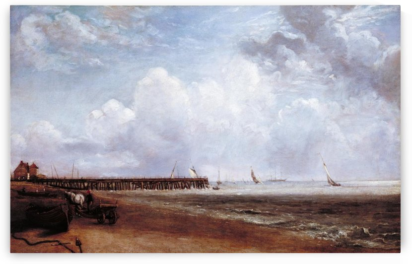 Yarmouth Jetty by John Constable