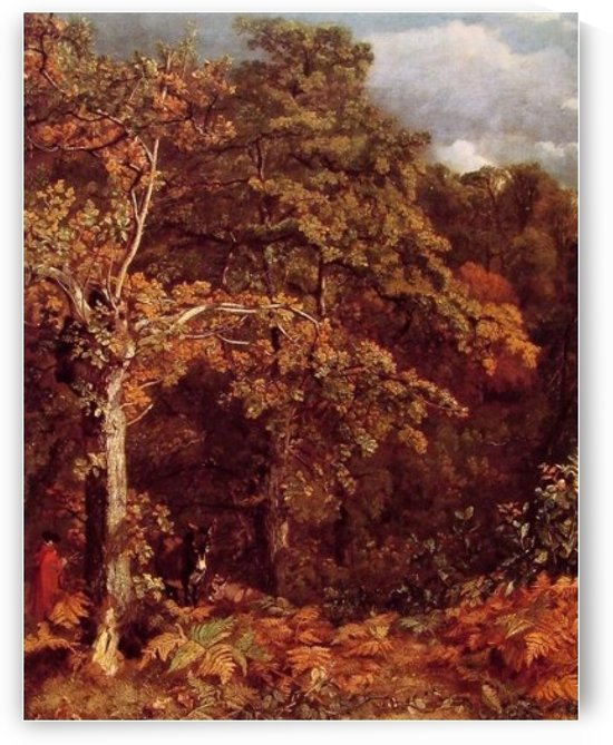 Wooded Landscape by John Constable