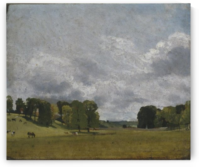 View at Epsom by John Constable