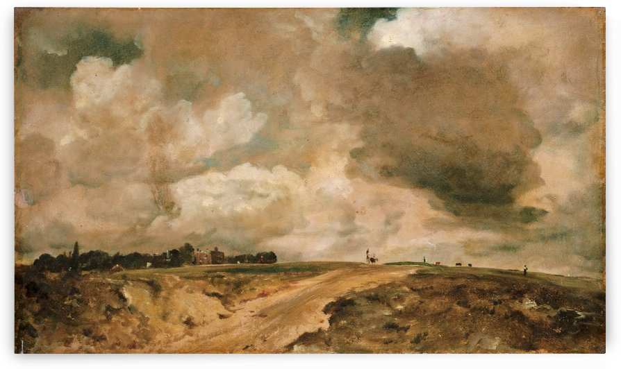 Road to the Spaniards, Hampstead by John Constable