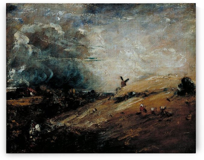 Summer, Afternoon - After a Shower by John Constable