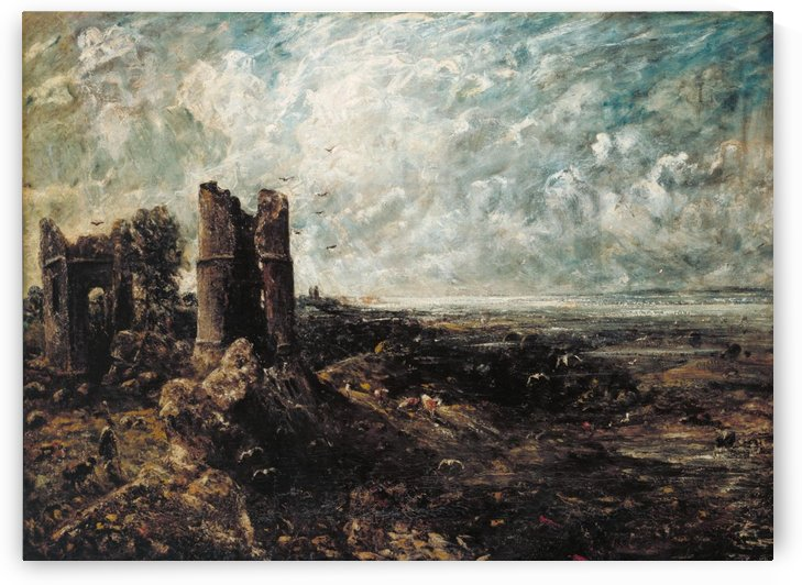 Sketch for Hadleigh Castle by John Constable