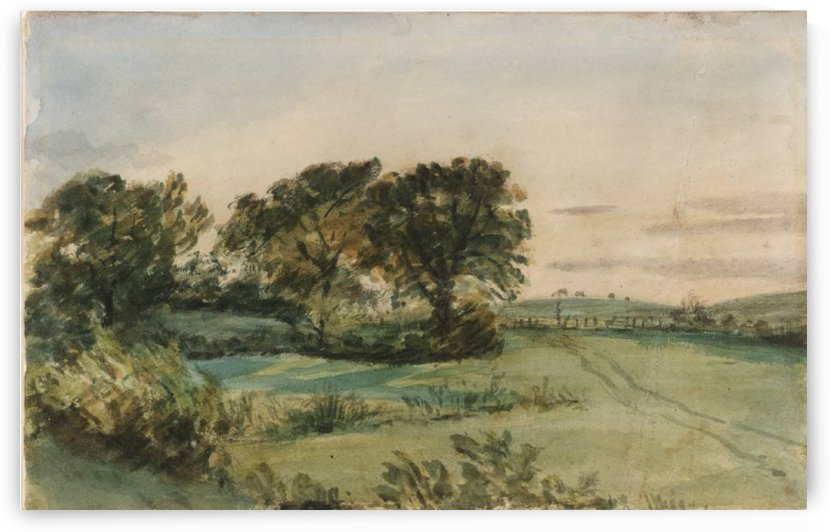 Folkstone and sandgate by John Constable