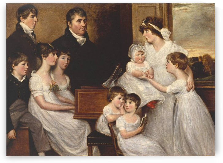 The Bridges Family 1804 by John Constable