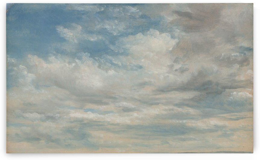 Clouds 1822 by John Constable