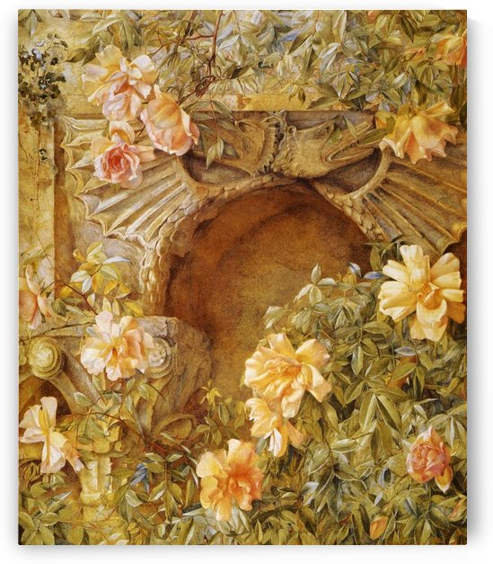 Italian Grotto by Henry Roderick Newman