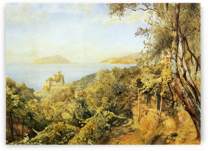 The Priest's Garden by Henry Roderick Newman
