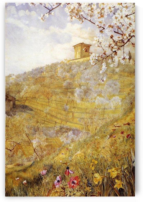 The Villa di Bellosguardo by Henry Roderick Newman