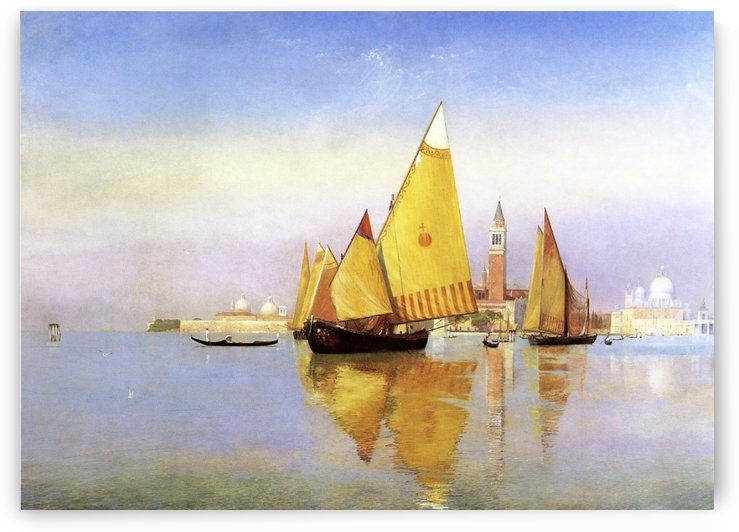 Venice 1881 by Henry Roderick Newman