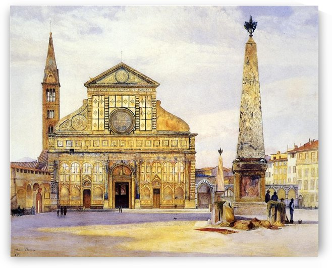 The main square by Henry Roderick Newman