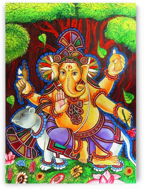 GANAPATHY MURAL by ASP Designs