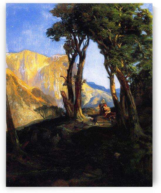 The Sacrifice of Isaac, 1868 by Thomas Moran