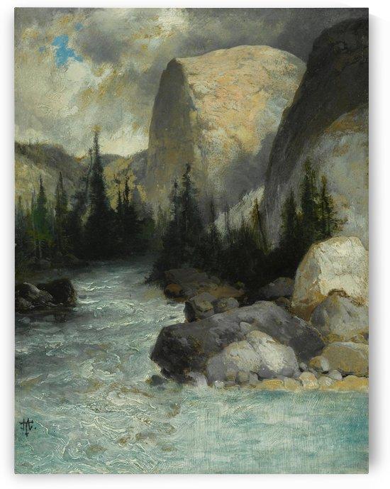 Tuolomne River by Thomas Moran