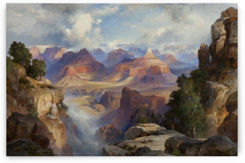 The Grand Canyon, 1917 by Thomas Moran
