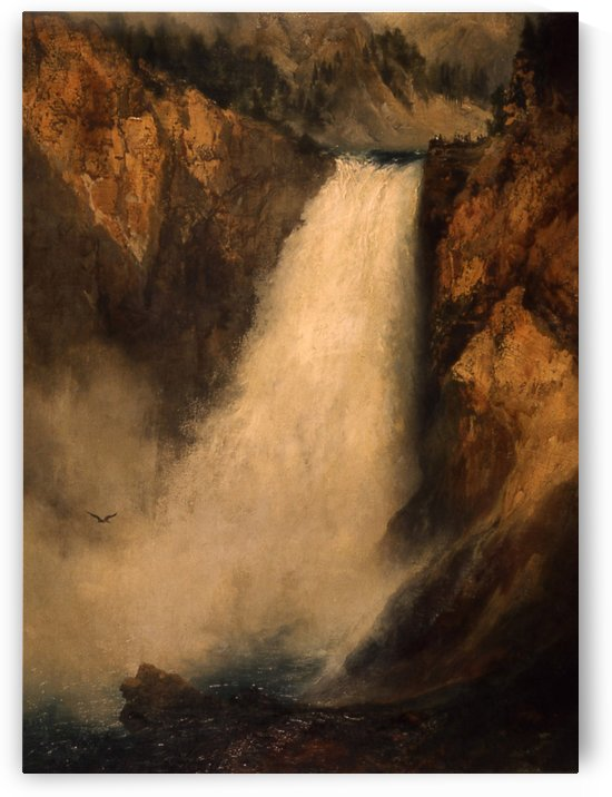Lower Falls, Yellowstone by Thomas Moran