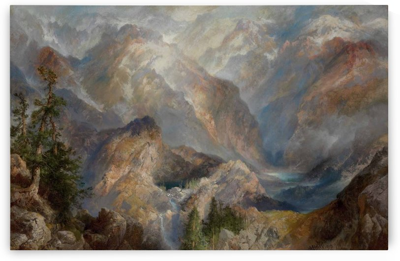 Morning in the Sierras, Nevada by Thomas Moran