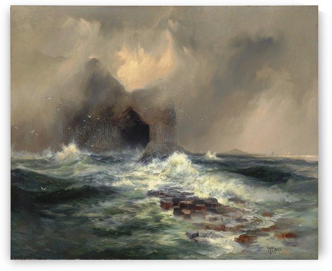 Fingal Cave, Island of Staffa, Scotland 1884 by Thomas Moran