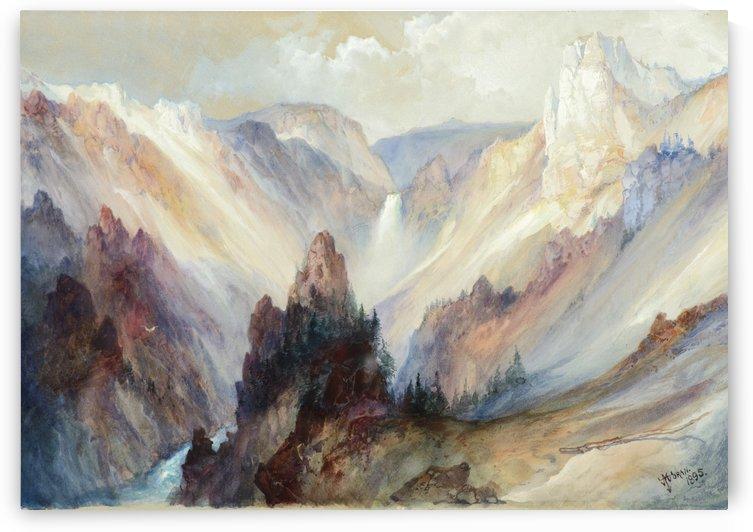 Grand Canyon of Yellowstone by Thomas Moran