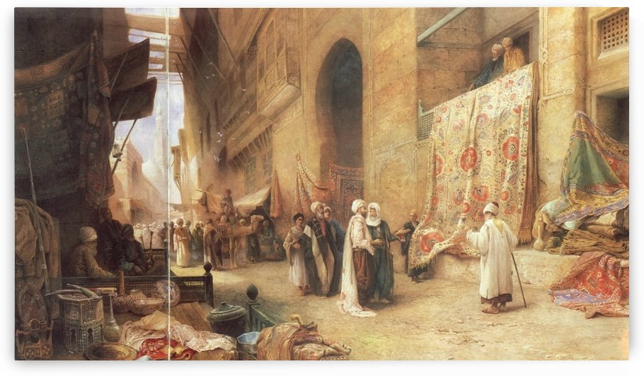 A walk in the central market by Charles Robertson