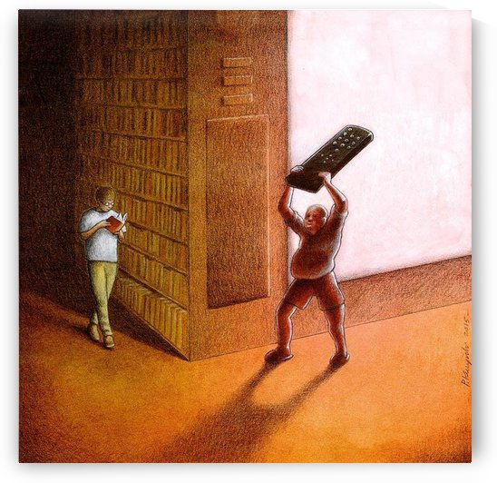 TV and Books by Pawel Kuczynski