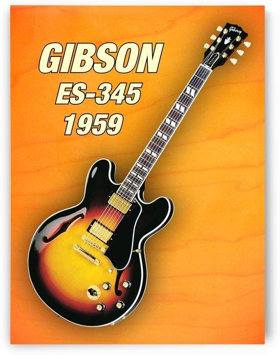 Gibson-es-345 1959 by shavit mason