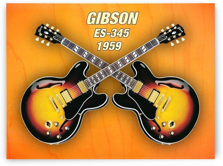 Double gibson-es-345  1959 by shavit mason