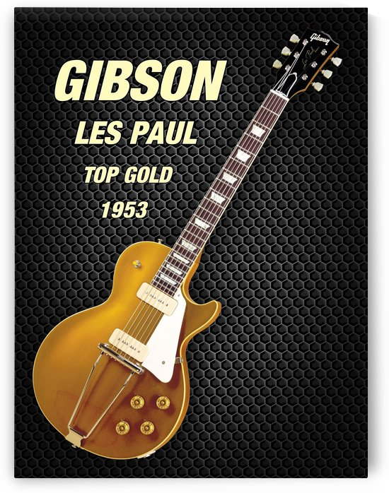 Gibson les paul top gold 1953  by shavit mason