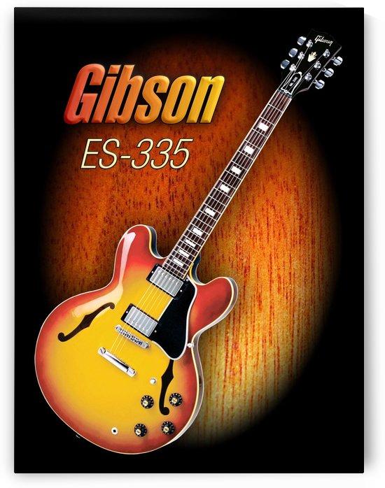 Wonderful Gibson ES-335 by shavit mason