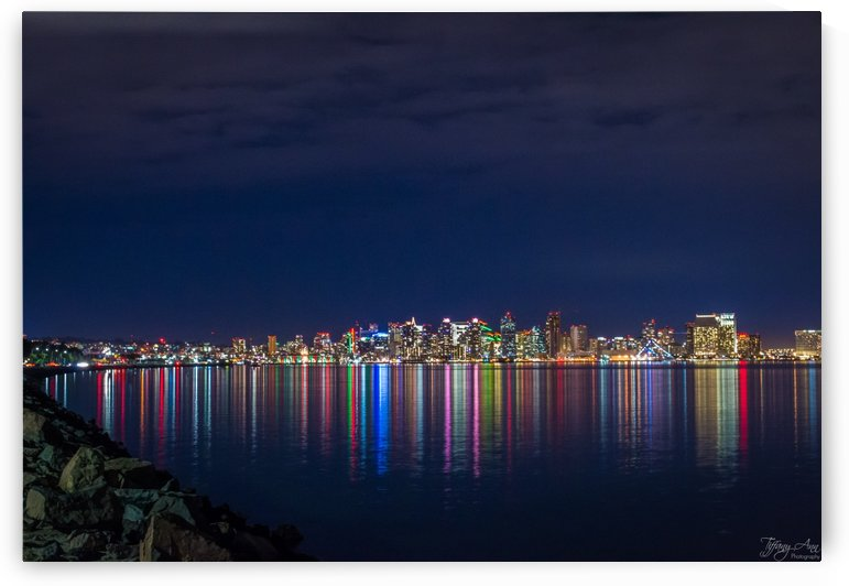 San Diego Skyline I by Tiffany Ross