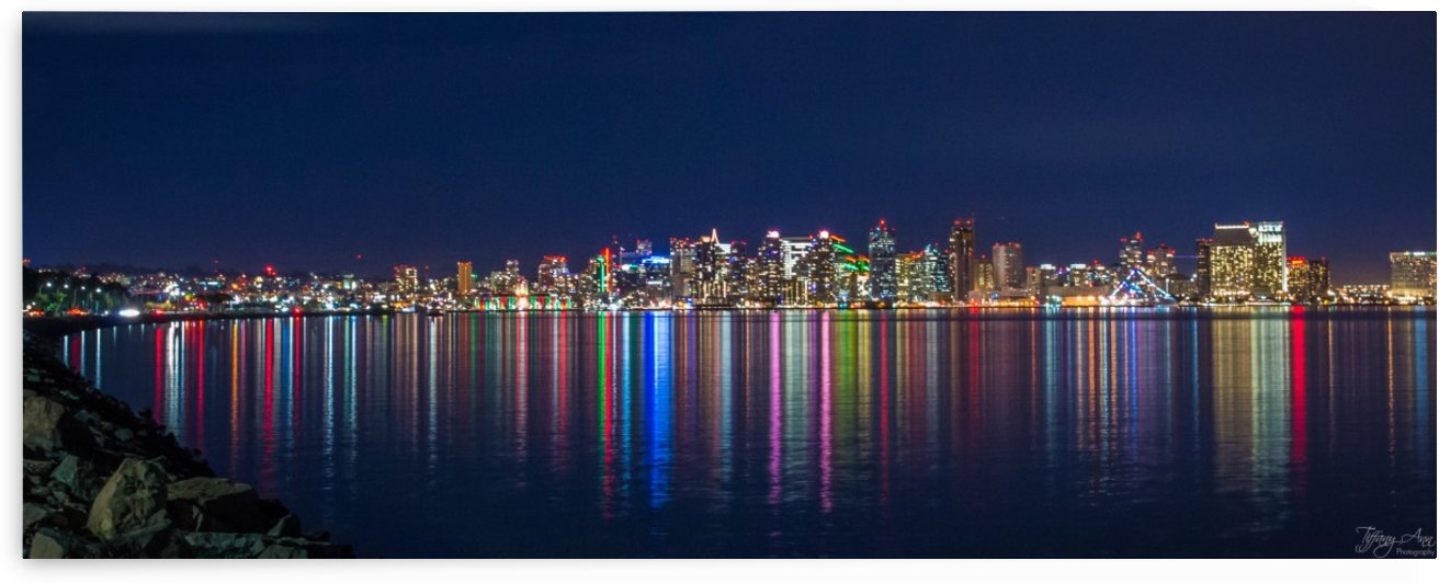 San Diego Skyline II by Tiffany Ross