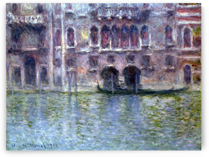 Palazzo da Mula, Venice by Monet by Monet