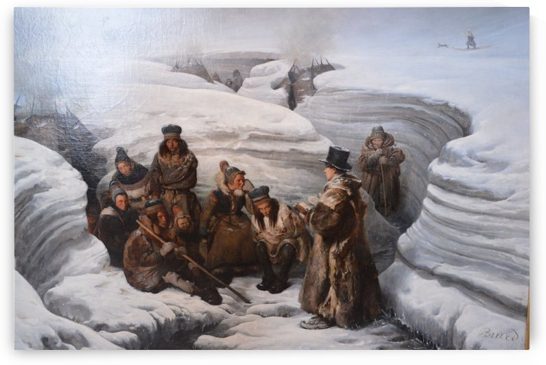 Laestadius by Francois-Auguste Biard